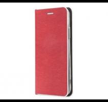 Pouzdro Forcell Luna Book Silver pro Apple iPhone 12, 12 Pro, červená obrázek