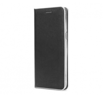 Pouzdro Forcell Luna Book Silver pro Apple iPhone 12 mini, černá obrázek