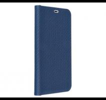 Pouzdro Forcell Luna Carbon pro Apple iPhone 12, 12 Pro, modrá obrázek