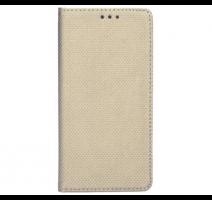Pouzdro kniha Smart pro Apple iPhone 12, 12 Pro, zlatá obrázek