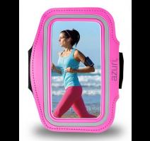 Pouzdro Samsung Sport Armband kožené pro Apple iPhone 5 pink BLISTR obrázek