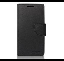 Pouzdro typu kniha pro Huawei P8 Lite black/černá (BULK) obrázek
