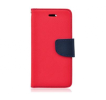 Pouzdro typu kniha pro Huawei P8 Lite red-blue/červeno-modrá (BULK) obrázek