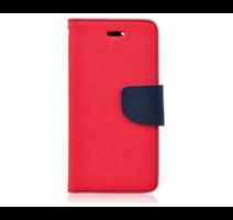 Pouzdro typu kniha pro iPhone 5,5S,SE červeno-modrá (BULK) obrázek