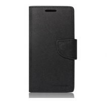 Pouzdro typu kniha pro Samsung i9300 Galaxy S3 black/černá (BULK) obrázek