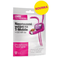 SIM karta T-Mobile SIM s kreditem T-mobile Twist V síti 200 Kč kredit obrázek