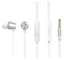 Sluchátka SWISSTEN EARBUDS DYNAMIC YS500, stříbrno-bílá (BLISTR) obrázek