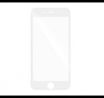 Tvrzené sklo 5D pro Samsung Galaxy A8 2018 DS (SM-A530), plné lepení, bílá obrázek