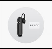 USAMS LM Wireless Headset Black obrázek