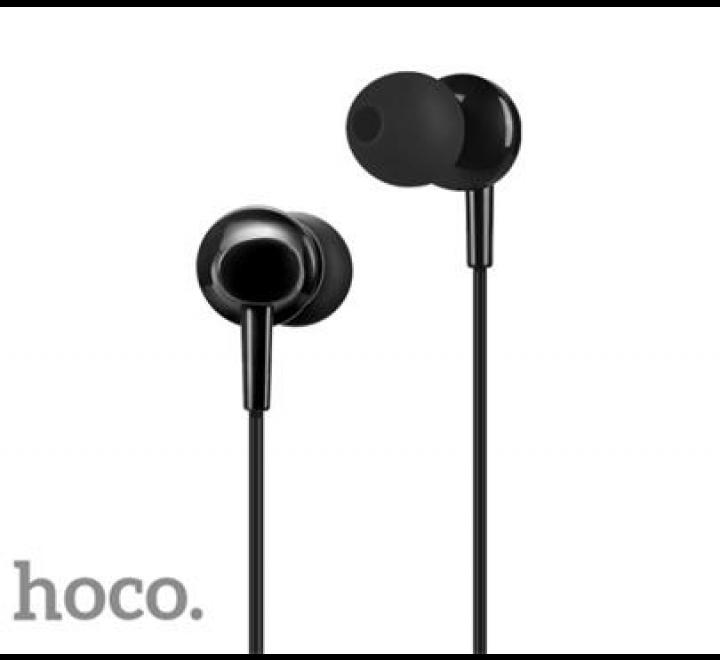 HF, sluchátka HOCO M14 Initial sound, stereo, jack 3,5 mm, černá
