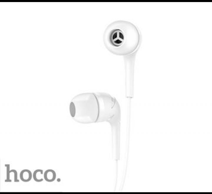 HF, sluchátka HOCO M40 Prosody, stereo, jack 3,5 mm, bílá