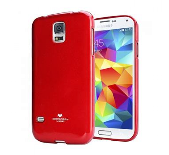 Mercury Jelly Case for Samsung i9505 Galaxy S4 Red