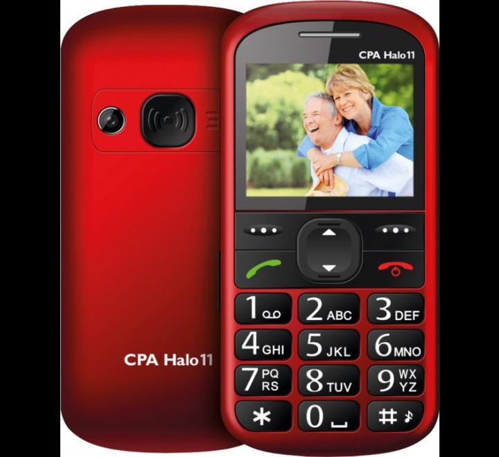 myPhone 1011 SENIOR - CPA Halo 11 červený