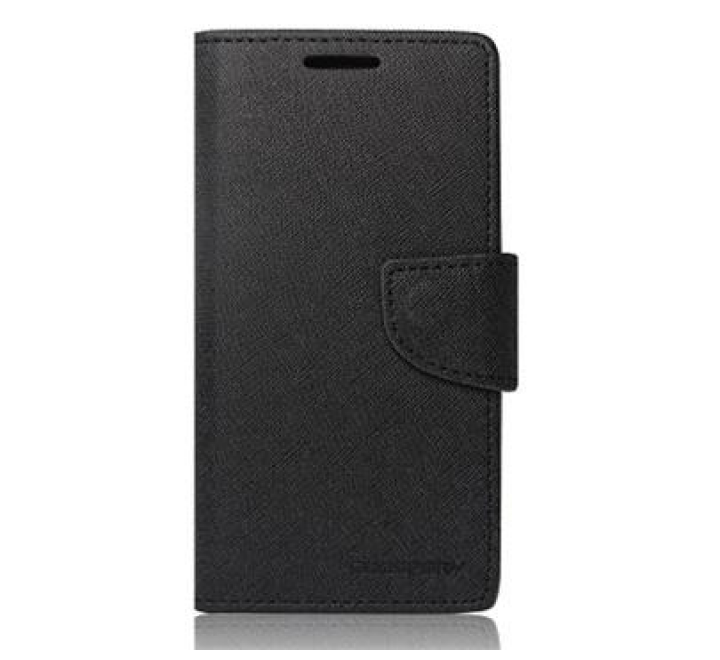 Pouzdro typu kniha pro Huawei P8 Lite black/černá (BULK)