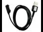 Data Kabel Magnetický USB SONY Xperia Z1, Z1c, Z2 black/černá OEM (Bulk)