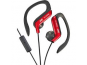 JVC SPORT remote + microphone HA-EBR80-R Red