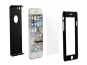Kryt ochranný 360° Full + tvrzené sklo pro Samsung Galaxy S6 (SM-G920F), černá