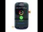 LCD display + Dotyk + Přední kryt Samsung i8190 Galaxy S3mini Blue