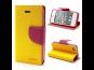 Mercury Fancy Diary Pouzdro pro Samsung A700 Galaxy A7 Yellow/HotPink