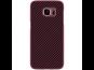 Nillkin Synthetic Fiber Ochranný Zadní Kryt Carbon Red pro Samsung G935 Galaxy S7 Edge