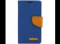 Pouzdro Canvas pro Samsung Galaxy A3 (SM-A300) modrá (BULK)