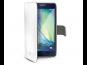 Pouzdro CELLY Wally pro Samsung Galaxy A3 (SM-A300) bílá PU kůže
