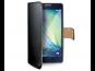 Pouzdro CELLY Wally pro Samsung Galaxy A3 (SM-A300) černá PU kůže